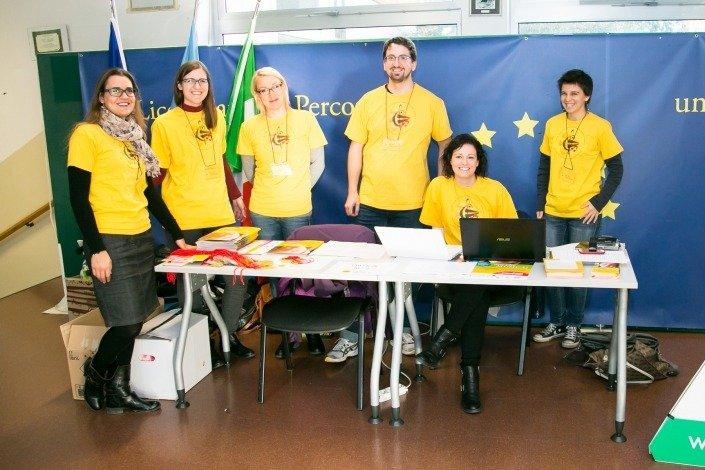 Il team di supporto offerto dal C.E.Di.M. per l'accoglienza al Convegno