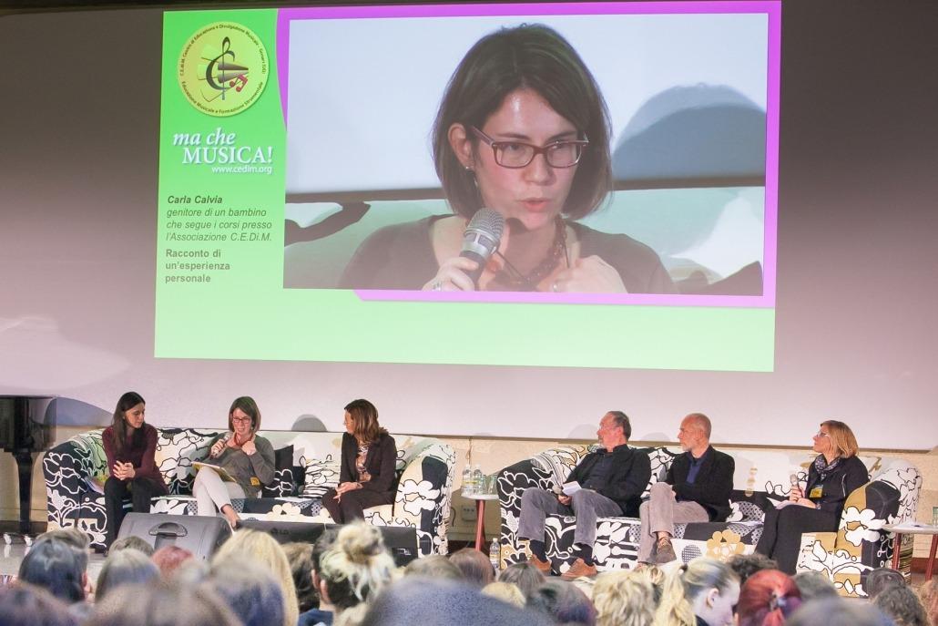 Carla Clavia: testimonianza diretta del lavoro di musicoterapia nella sede del CEDiM di Gonars