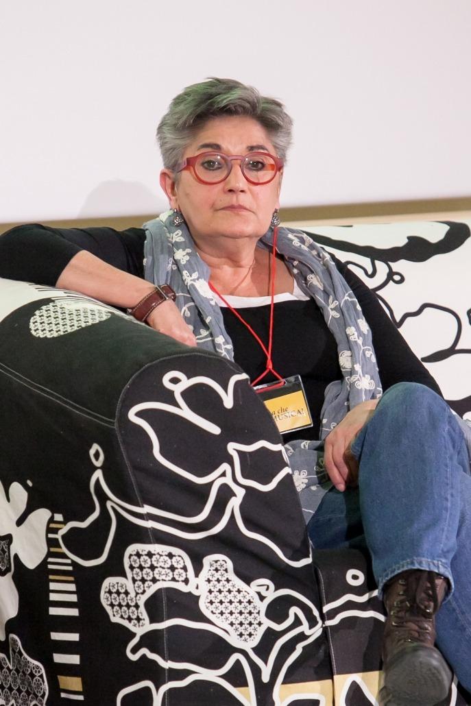 La Dott.ssa Orian Chiarparin, psichiatra, resp. dell'Età Evolutiva e Disabilità A.A.S. 2 Bassa Fiulana Isontina, resp. servizi del territorio ex A.S.S. 5