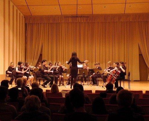 Concerto Internazionale dell'Orchestra d'archi Interscolastica