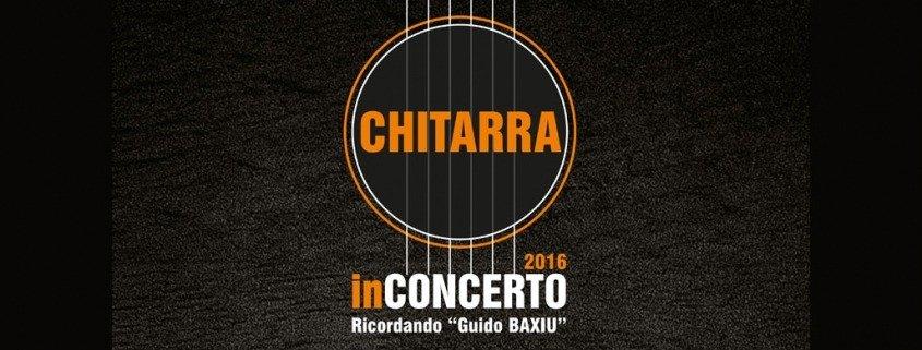 Chitarra in Concerto 2016