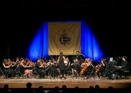 0124 - Antonella Tosolini Dirige l'Orchestra Interscolastica