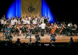 0265 - Orchestra Interscolastica e Cori Giovanili C.E.Di.M. e Natissa diretti da Patrizia Dri