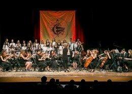 0561 - Cori e Orchestra diretti in Rockin'Robin da M° Nadia Olivo