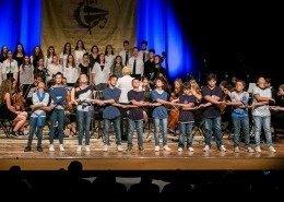 0827 - I ragazzi della Secondaria Inferiore T. Marzuttini interpretano Earth Song