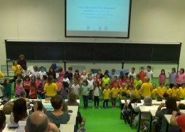 Coro, I bambini in Congresso – Progetto Music Science Children Lab
