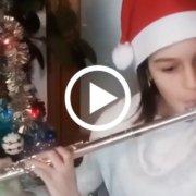 Ambra Malisan - Jingle Bells (J. Pierpont) e Kling, Glöckchen (trad.)